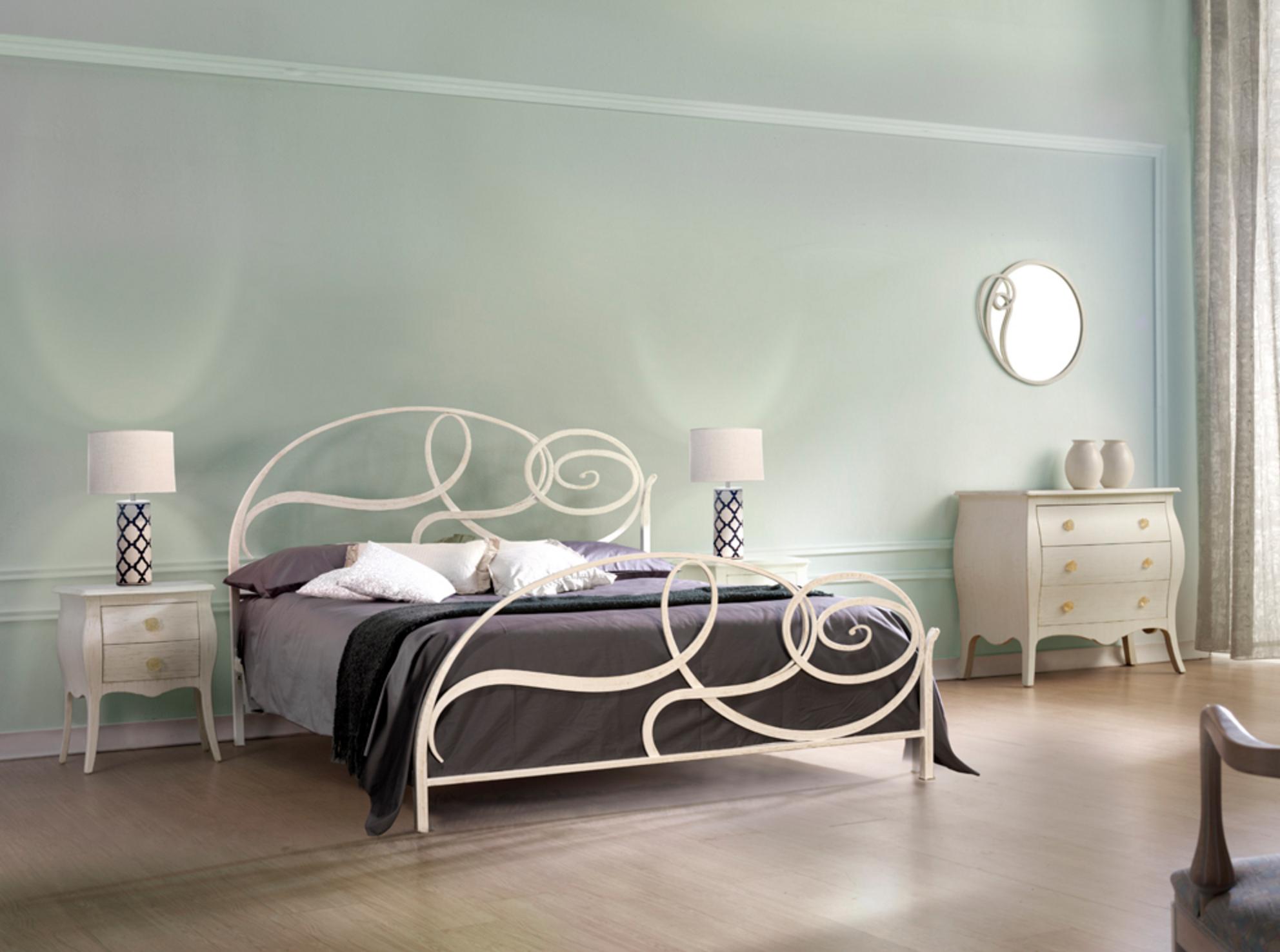 Mobilificio comin tipologie camere - Camere con letto in ferro battuto ...